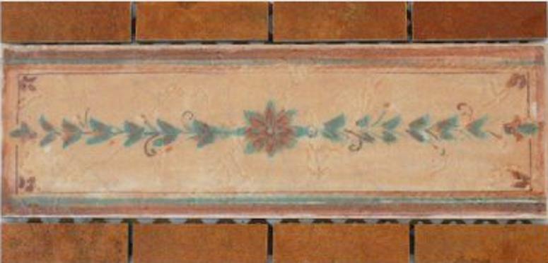 Keramik Bordüre