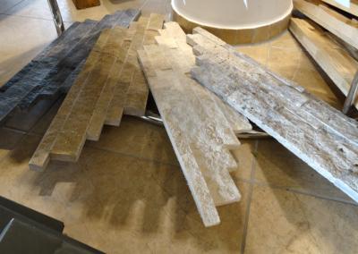 Wandverblender Granit
