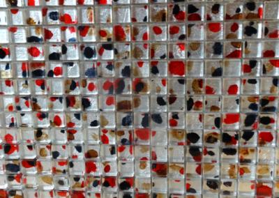 Mosaik Glas bunt