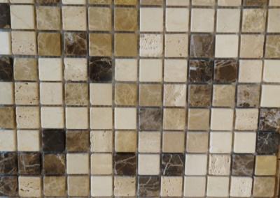 Mosaik braun beige